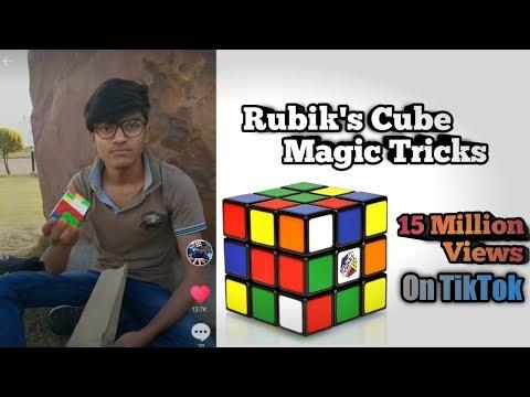 Rubik's Cube Magic Tricks On My TikTok 15Million+ Views