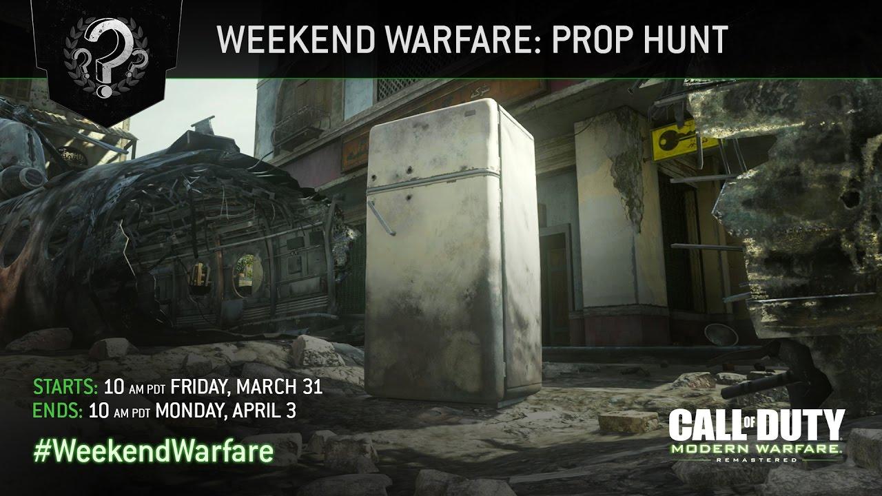 Call of Duty: Modern Warfare Remastered - Prop Hunt