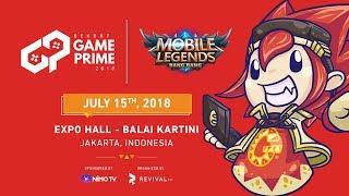 Part 1 - BEKRAF Game Prime 2018 - MLBB PRO TOURNAMENT