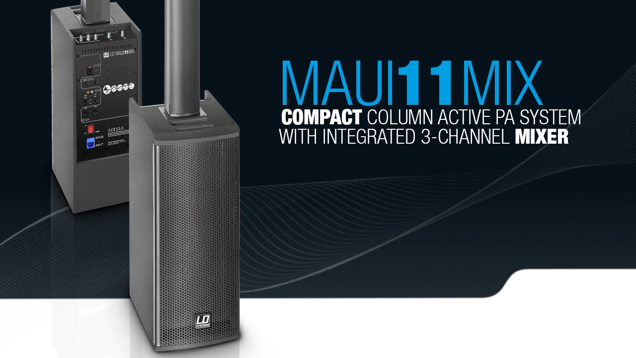 Ld Systems Maui 11 Mix Compact Column Pa System Active
