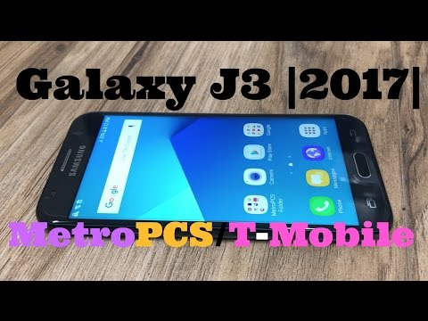 Galaxy J3 |2017| Unboxing & Review MetroPCS/T-Mobile
