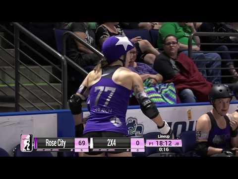 WFTDA Roller Derby - Division 1, Seattle - Game 8 Rose City vs. 2x4 Roller Derby