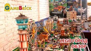 ЛЕГО ГОРОД Перед разрушением Обзор LEGO CITY Осень 2016 [музей GameBrick]
