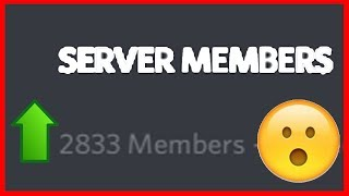 Top 5 Ways To Get Members On Your Discord Server
