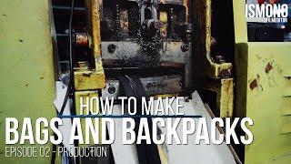 الخوض في الإنتاج. كيف أكياس وحقائب مصنوعة. E02