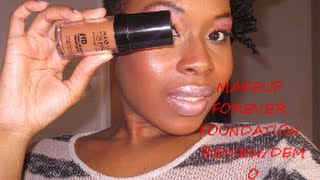 MAKEUP FOREVER  FOUNDATION REVIEW/DEMO Thumbnail