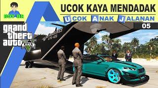 GTA 5 INDONESIA - REAL LIFE - UCOK JADI ORANG KAYA SOMBONG #5