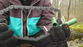 Пила-цепь туриста/выживальщика (складная цепная пила)(, 2014-01-03T10:53:51.000Z)