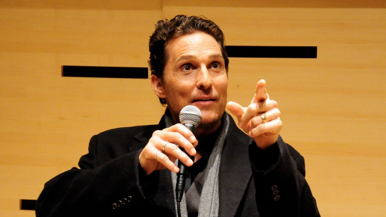 Matthew McConaughey On Researching Roles