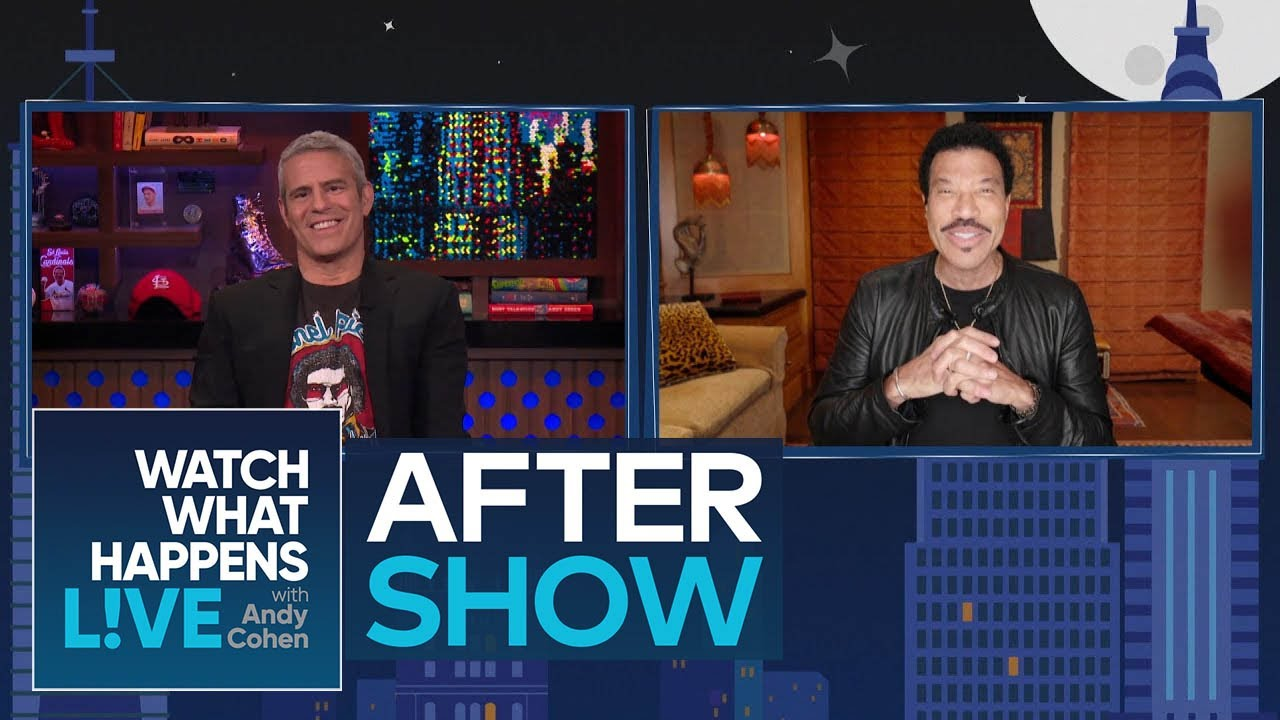 After Show: Lionel Richie on Writing 'Lady' for Kenny Rogers | WWHL