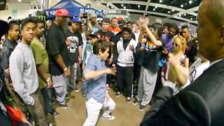 BOPPIN ANDRE VS JERK KID WORLD OF DANCE 2012