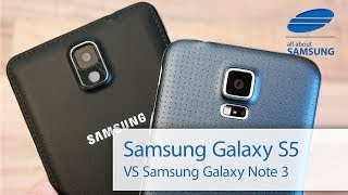 видео Samsung Galaxy S5 vs Galaxy Note 3: Which One Is Better?