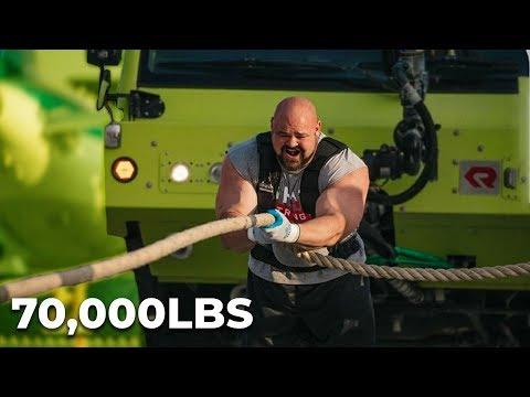 70,000LB TRUCK PULL | EDDIE HALL ROBERT OBERST & NICK BEST