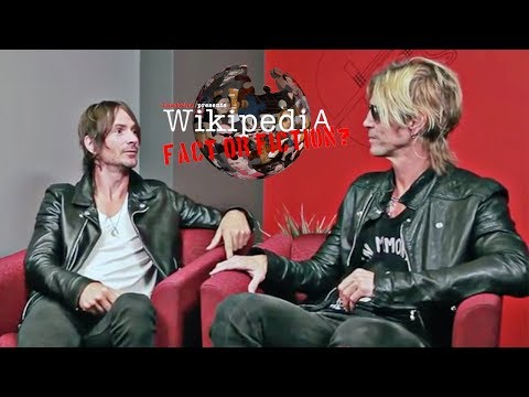 Duff McKagan + Jeff Angell of Walking Papers – Wikipedia: Fact or Fiction?