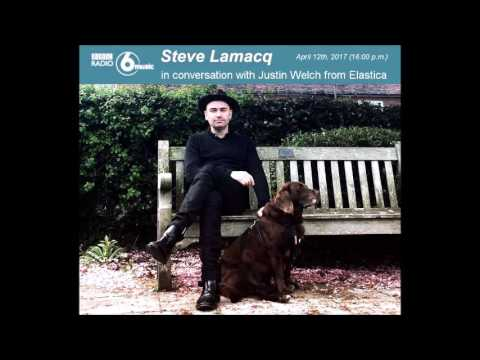 Justin Welch from Elastica w/ Steve Lamacq (part 1 of 2)