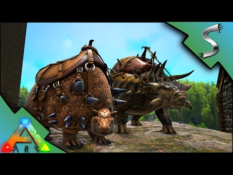 ANKYLO AND DOEDIC BREEDING & IMPRINTING! BABY ANKY AND DOEDICURIS! - Ark: Survival Evolved [S3E52]