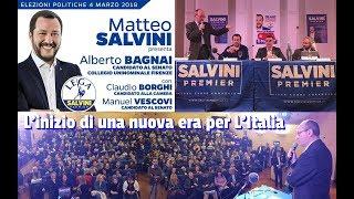 🔴 Salvini, Borghi, Bagnai: l'inizio di una nuova era per l'ITALIA.