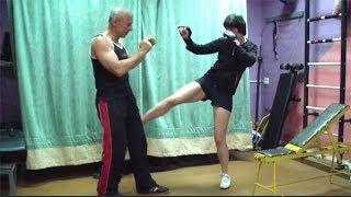 Лоу кик. Тайский бокс, урок 13