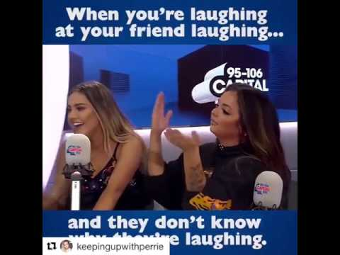 LITTLE MIX CAN'T STOP LAUGHING DURING AN INTERVIEW AT CAPITAL FM