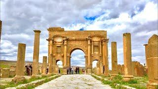 "TIMGAD: The Roman City, Batna, Algeria 🇩🇿""تيمقاد: ..."