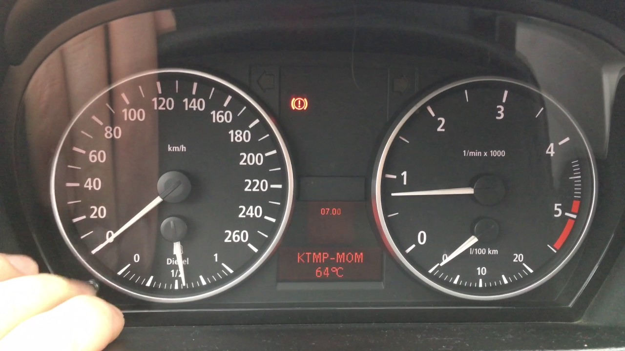 Bmw E90 320d Meniu Secret Temperatura Motor