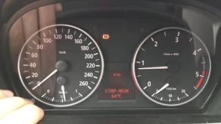 BMW e90, 320d. Meniu secret. Temperatura motor.