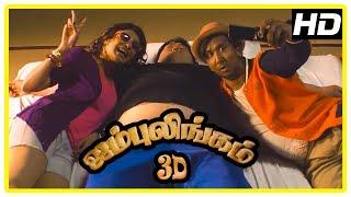 Video Jambulingam 3D Movie scenes | Gokulnath Sumo Fight Scene | Anjena Kirti | Sukanya download MP3, 3GP, MP4, WEBM, AVI, FLV November 2017