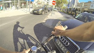 Car Hits Cyclist
