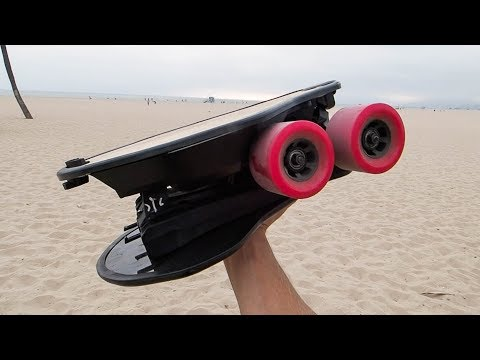 World's First SELF-FOLDING Electric Skateboard
