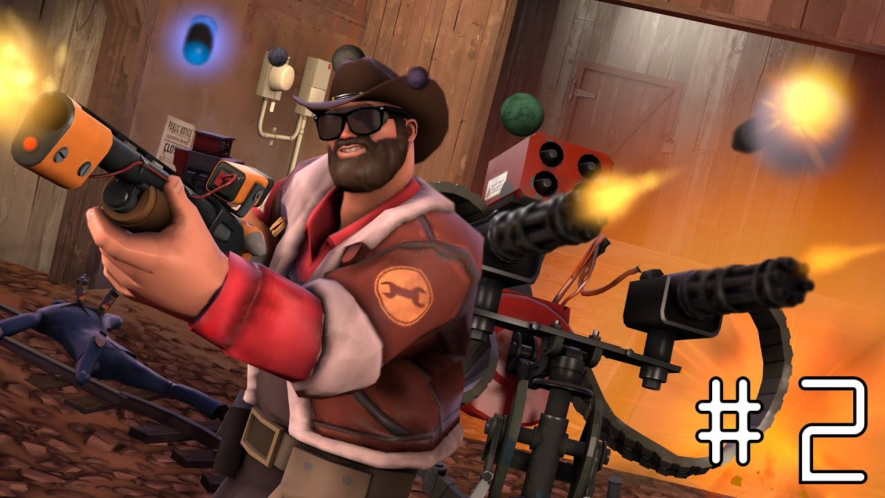 [TF2] Casual Engineer Gameplay #2 (Badwater Defense)