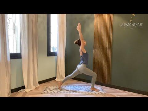 Séance de Yoga Vinyasa<br>par Rola Fort<br>Durée : 38 minutes