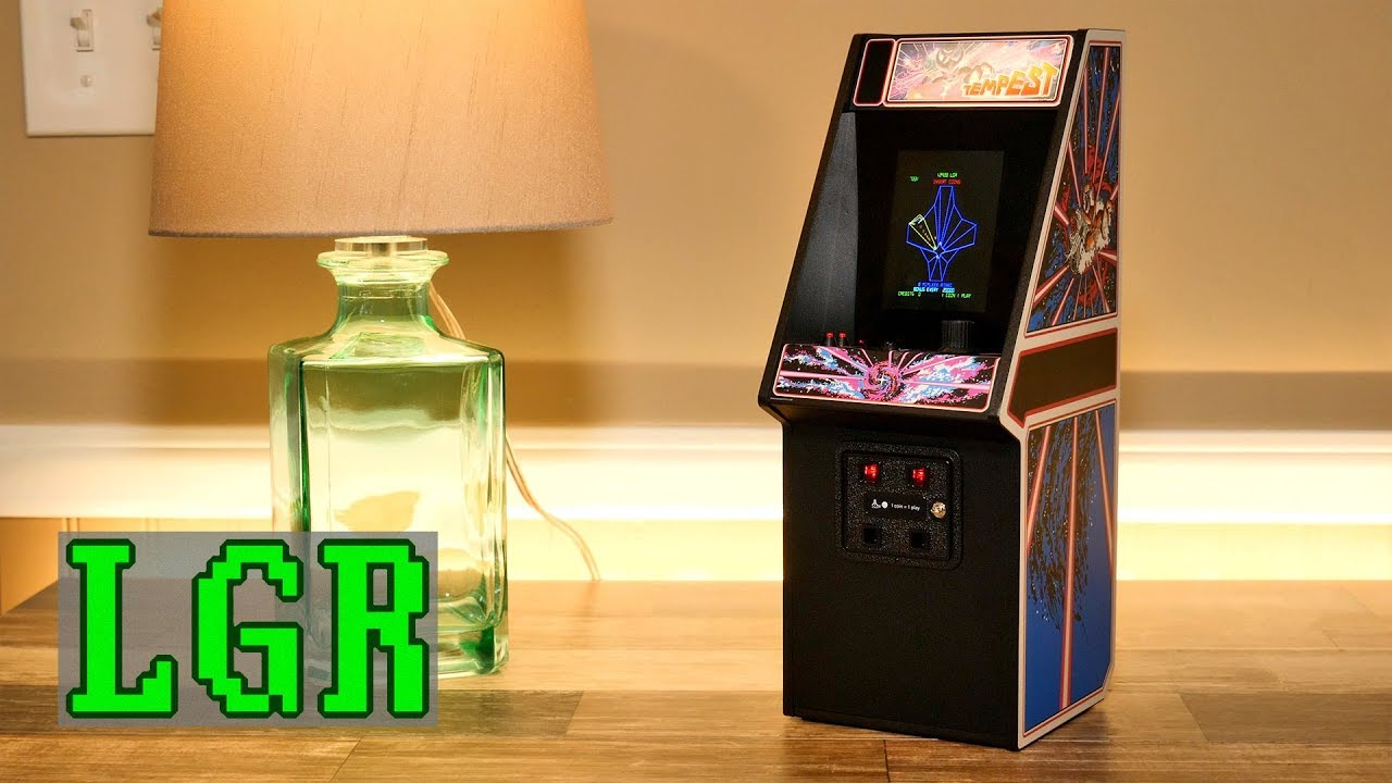 Tempest Replicade: Playable Mini Arcade Machine by New Wave Toys