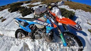 Pierwszy Śnieg Romania Enduro Tours #Vlog