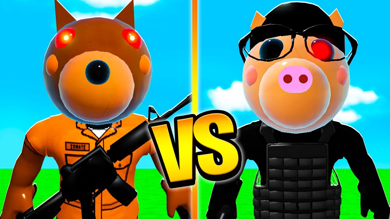 ROBLOX PIGGY JAILBREAK DOGGY VS TSP SPY PONY! (Roblox Piggy RP)
