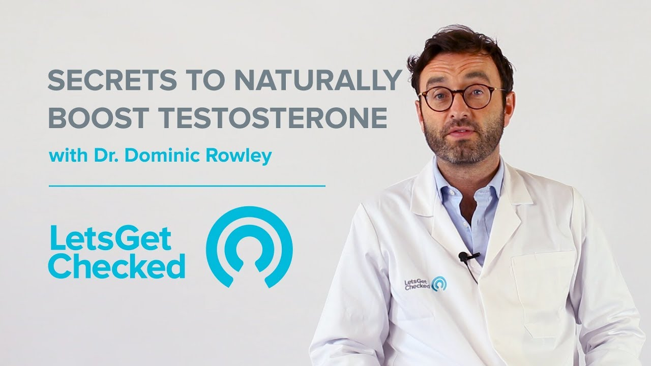 Secrets to Naturally Boost Testosterone How to Check Your Testosterone Levels - YouTube