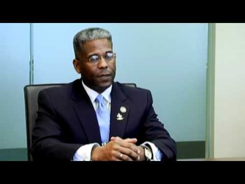 Allen West FL. Congressman meets with Tripp Scott President, Ed Pozzuoli