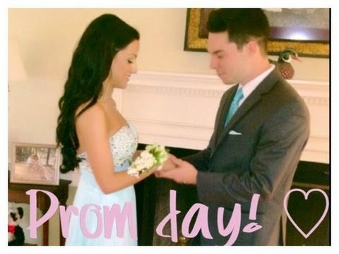 ♡ Get Ready With Me- PROM DAY! ♡ - YouTube