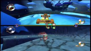 Mad Dash Racing: split-screen 2