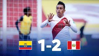 Эквадор  1-2  Перу видео