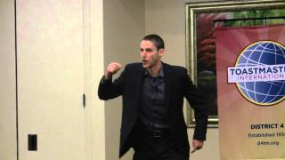 "District 04 Toastmasters Tall Tales Competition - ""The Jacket"""