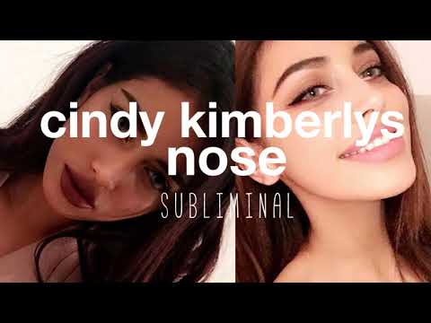 Get Cindy Kimberly's Nose In 1 Day || Subliminal