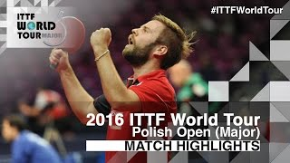 2016 Polish Open Highlights: Jon Persson vs Bai He (R2)(Review all the highlights from the Jon Persson vs Bai He (R2) Match from the 2016 ITTF Polish Open Subscribe here for more official Table Tennis highlights: ..., 2016-04-22T21:26:54.000Z)