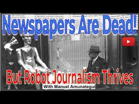 Warren Buffet Declares Newspapers Dead... But Robot Journalism Thrives