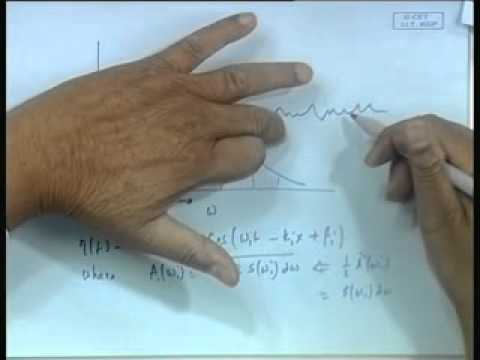 Mod-01 Lec-12 Description of Irregular Waves by Spectrum