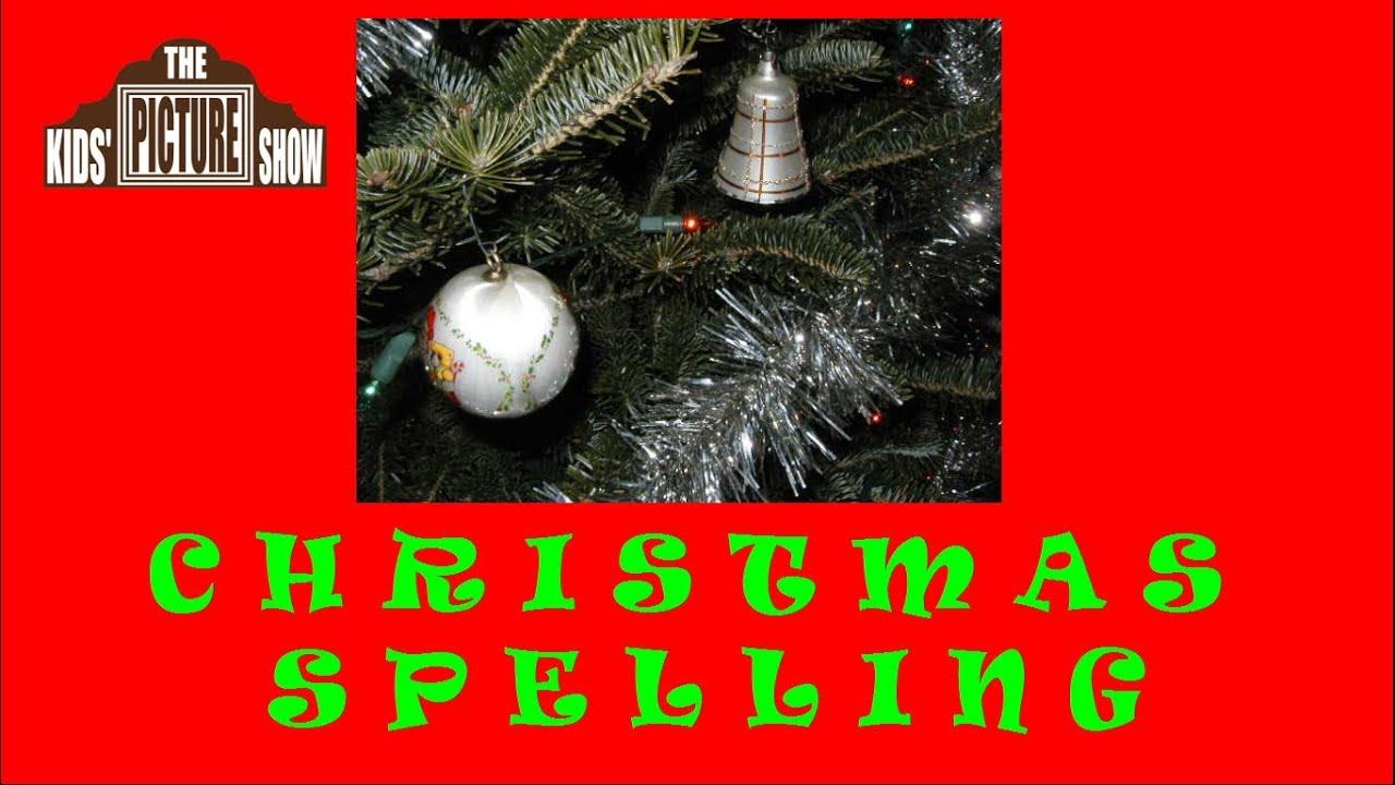 christmas words a through z