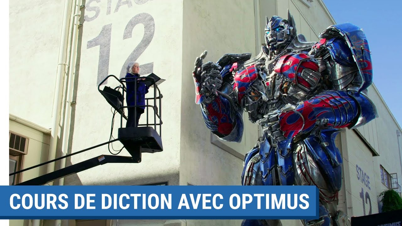 TRANSFORMERS : THE LAST KNIGHT - Cours de diction (VF)