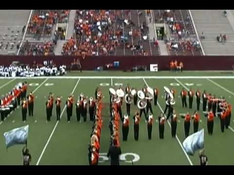 La porte high school marching band halftime show 11 19 for Laporte schools