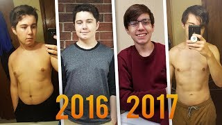 My 1 Year Weight Loss // Teenage Body Transformation (15-16)