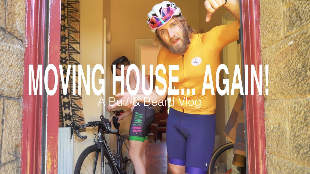 Moving house headaches solved with epic evening bike ride