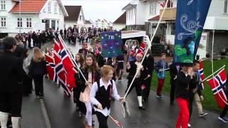 Barnetoget i Tananger - 17. mai 2013